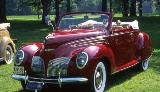 1939 Lincoln Roadster, as original as they came.