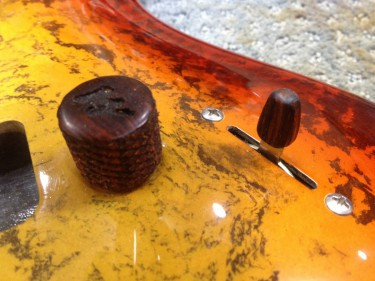 Knurled Cocobolo Rosewood